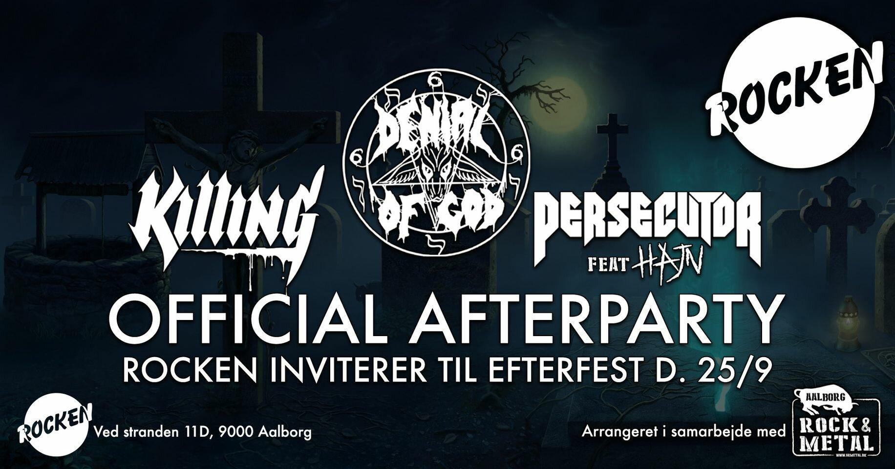 Official Afterparty Denial of God + Killing + Persecutor ft. Hajn